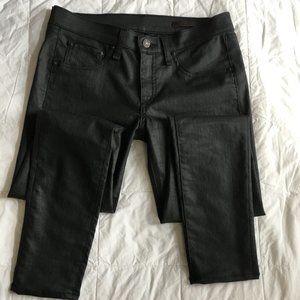 Devi Lace Up Jeans Black Size 28
